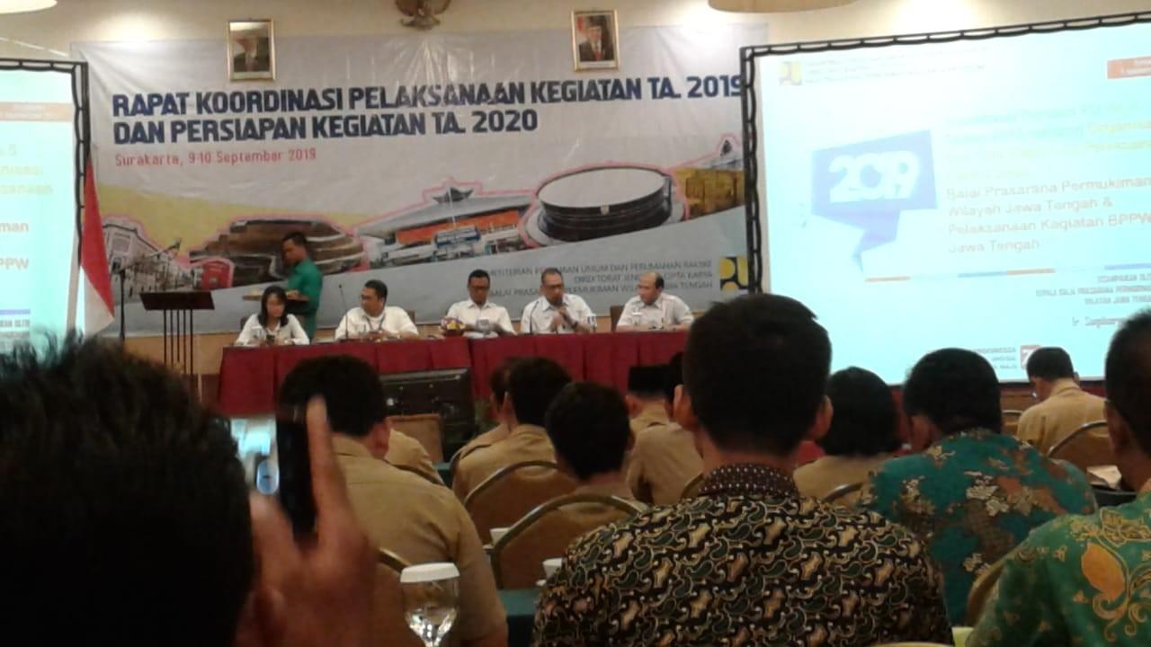 Rapat Koordinasi Pelaksanaan Kegiatan TA. 2019 dan Persiapan Kegiatan TA. 2020