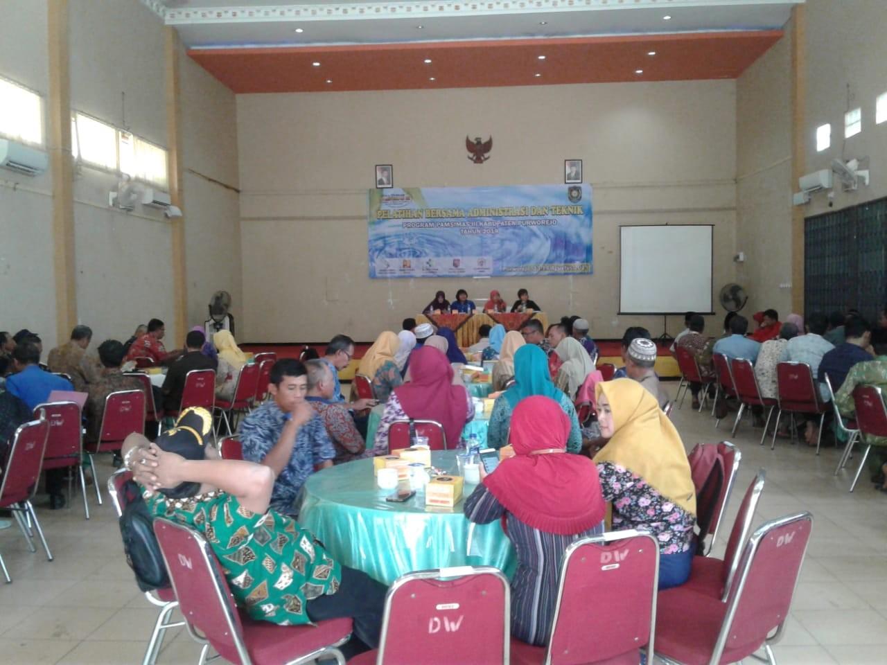 Workshop Pencegahan dan Peningkatan Kualitas Kawasan Permukiman Kumuh Perkotaan Kabupaten Purworejo Tahun 2019