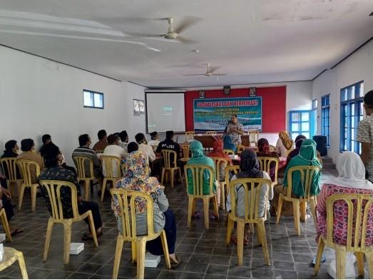 Sosialisasi BSPS Tahun Anggaran 2020 Kelurahan Sucenjurutengah, Kecamatan Bayan, Kabupaten Purworejo