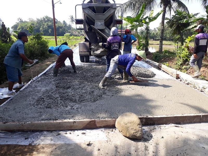 Pembangunan Jalan Kelurahan